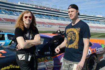 Megadeath at Speedway