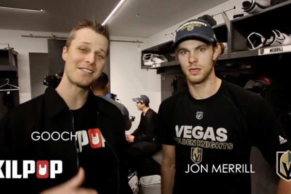 Kilpop Stage Left: Jon Merrill Las Vegas Golden Knights