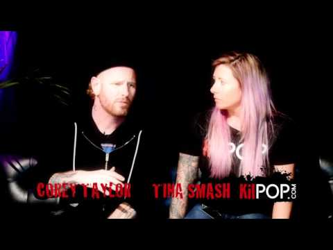 Kilpop​ Minute: Corey Taylor confirmed to do Soundgarden tribute? He tells tina smash what's up!