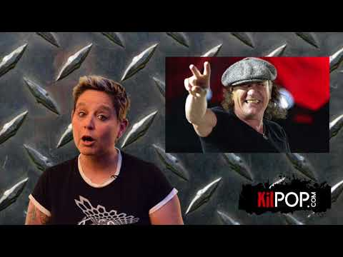 Kilpop Minute: AC/DC's Brian Johnson joins Muse onstage