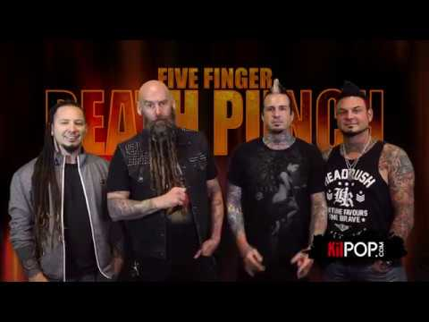 Five Finger Death Punch take the Kilpop Quiz!