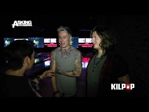 Kilpop Exclusive: Brooklyn Bowling with Asking Alexandria
