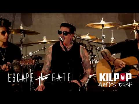 "Kilpop Amps Off: Escape the Fate performs "" I Am Human"" acoustically at the Hard Rock Hotel & Casino"