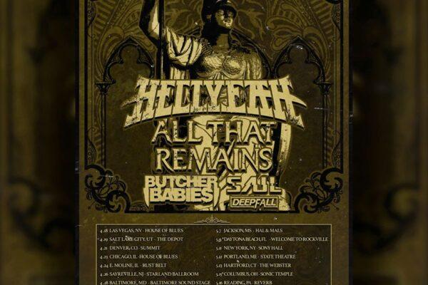 Hellyeah Perseverance Tour 2020