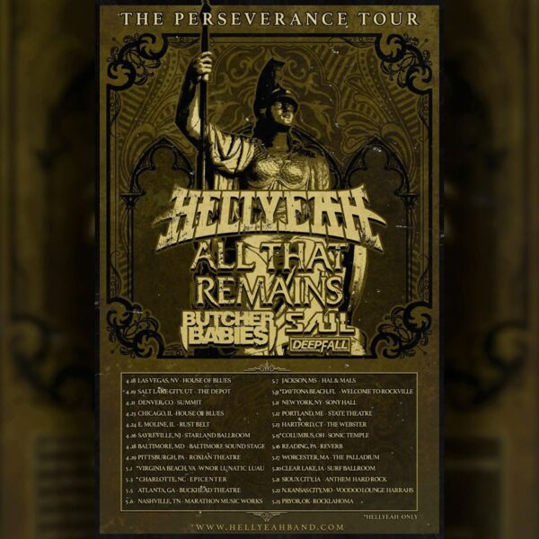 Hellyeah Perseverance Tour 2020